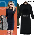 NJ PlusSize EuropeFashion Charming BodyCon Dress