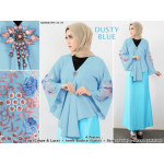 NJ Fashion Kebaya Blouse + Bodice + Shawl + Skirt - 4 in 1