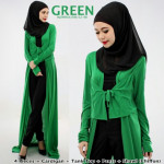 NJ Layered Cardigan + Tank Top + Long Pants + Shawl - 4 in 1