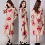 NJ EuropeFashion Sweet Floral Dress