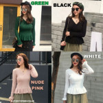 NJ Fashion Charming Knit Top