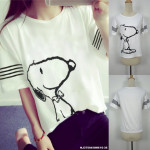 NJ Fashion Cute Top White