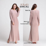 NJ ModernMuslimah Mermaid Exclusive Jubah