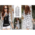 NJ Stylish Printed Long Cardigan