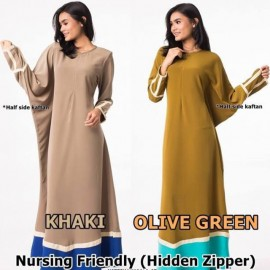 image of NJ ExclusiveCollections Kaftan Jubah Dress