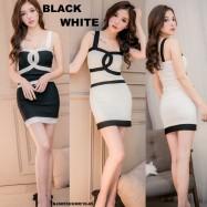 image of NJ Fashion Stylish Mini Dress