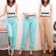 image of NJ Fashion Waist Stretchable Skinny Pants