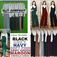 image of READY STOCK NJ Fashion Hot selling Trendy Jumpsuit (FREE Long Sleeves Inner Top)