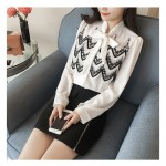 NJ Europe Fashion Pretty Lace OL Top