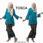 NJ ExclusiveCollections Classic Kurung Modern Style with SelfTied Printed Sarong