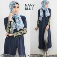 image of NJ SEOUL 3 IN 1 Elegant Maxi Outerwear With Pants (Including Shawl)