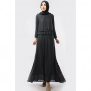 image of CLEARANCE SALE 3 IN 1 Double Layer Top With Long Inner Dress