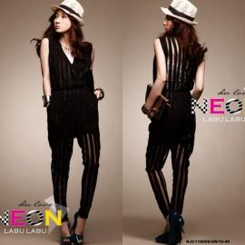 image of NJ Elegant V neck Jumpsuit