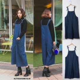 image of NJ DenimFashion Jumpsuit Blue