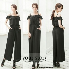 image of NJ Fashion Trendy Jumpsuit