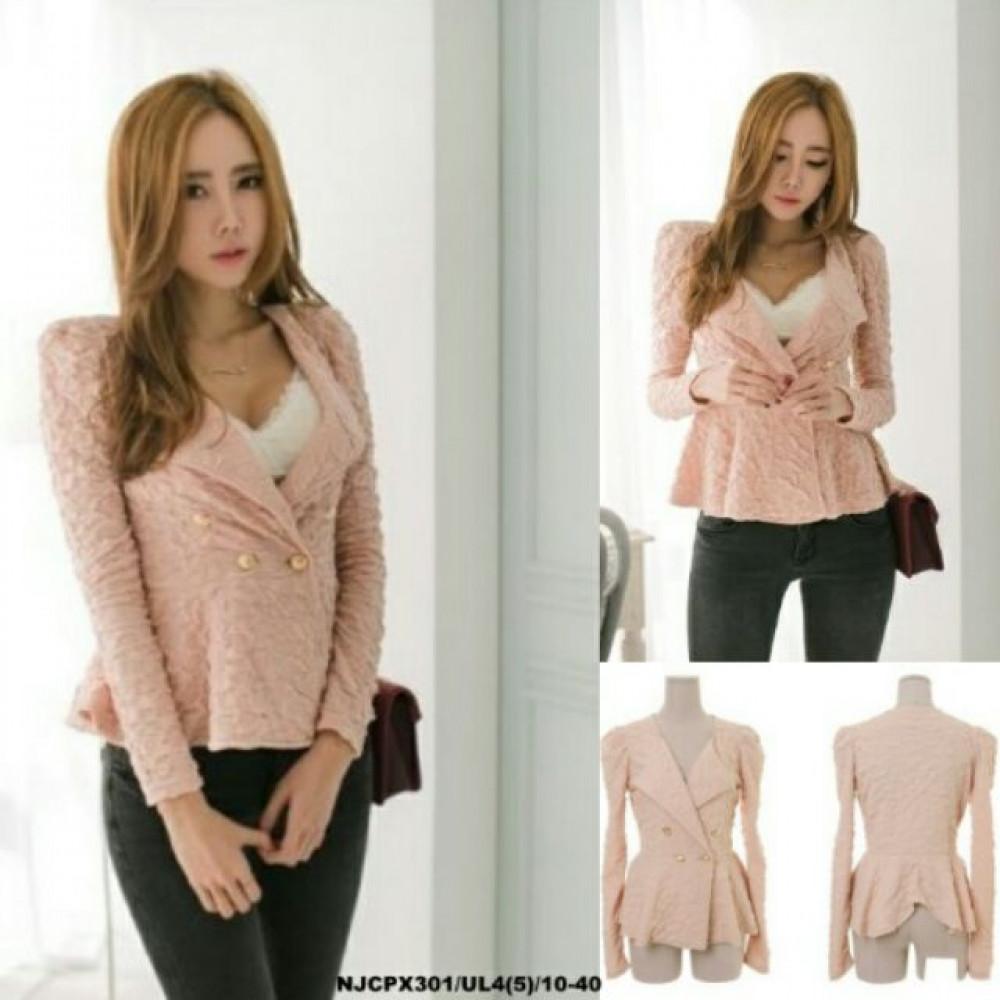 NJ Trendy Blazer - Pink
