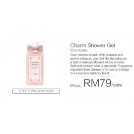 image of Anmyna Charm Shower Gel