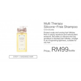image of Anmyna Multi Therapy Silicone-Free Shampoo (for unclogging hair follicles)