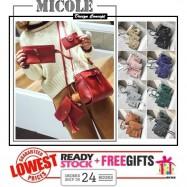 image of Ready Stock>> MICOLE 4 in 1 Shoulder Bag Handbag Women Sling Bag Beg BS3016
