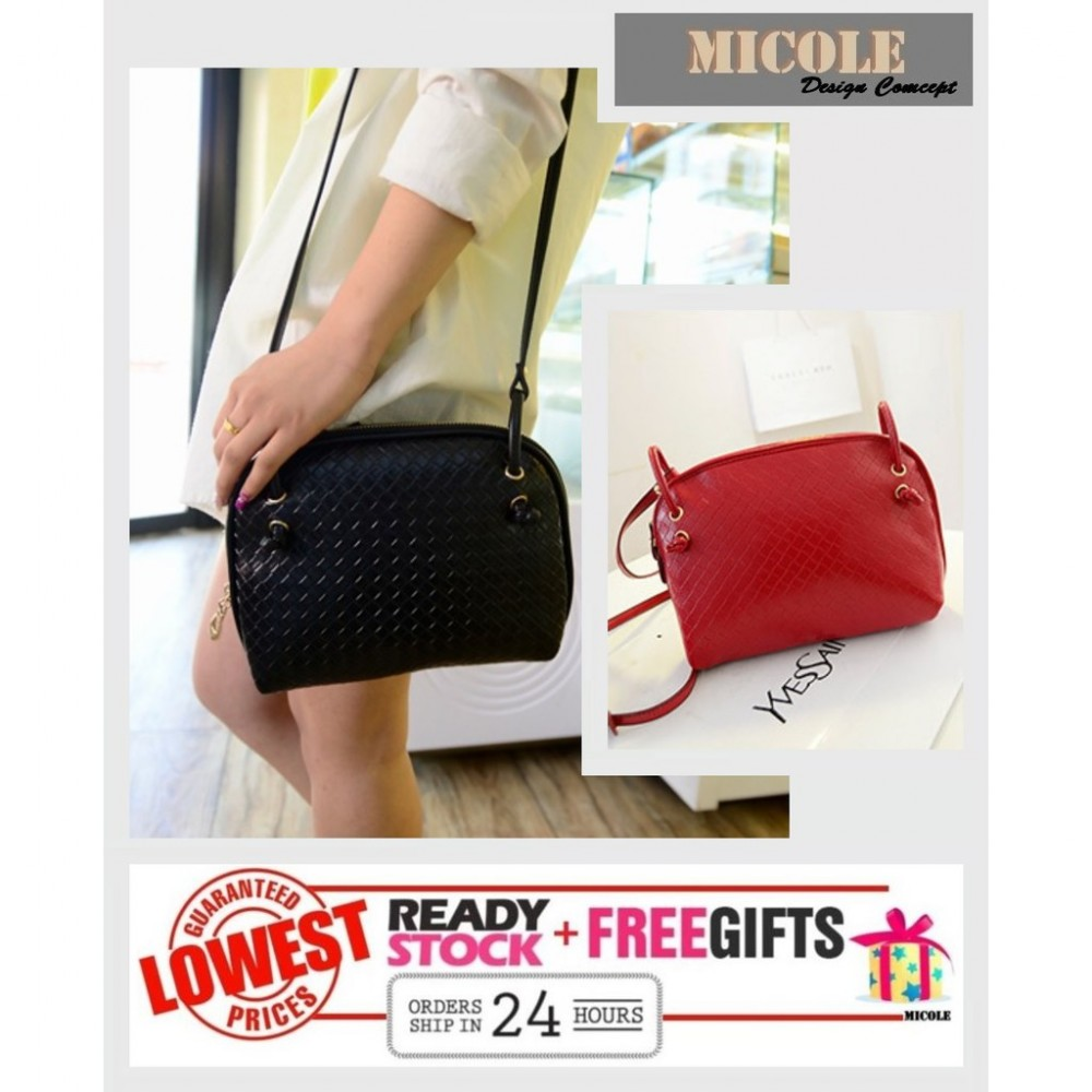 READY STOCK >>MICOLE Korean Shoulder Bag Handbag Women Sling Bag Beg SB2015