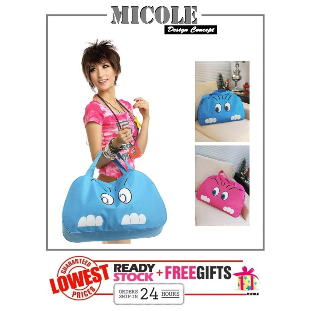 READY STOCK>> MICOLE Cuttie Cat Travel Bag Luggage
