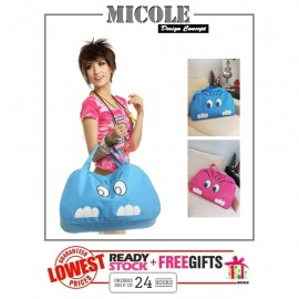 image of READY STOCK>> MICOLE Cuttie Cat Travel Bag Luggage