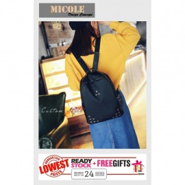 image of MICOLE Korean Casual Backpack Bags Travel Bag Pack Beg BP1011