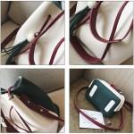 READY STOCK>> MICOLE Dual Color Shoulder Bag Handbag Women Sling Bag SB2071