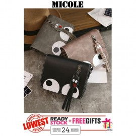 image of READY STOCK>>MICOLE BigEyes Shoulder Bag Handbag Women Sling Bag Beg SB2001