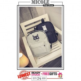 image of Ready Stock>>MICOLE CAT Rucksack Backpack School Bag Travel Bag Pack BP1015