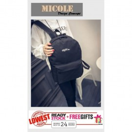 image of Ready Stock✨ MICOLE School Bag Casual Backpack Travel Bag ( NIGHT ) BP1014
