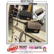image of READY STOCK>> MICOLE Korean Shoulder Bag Handbag Women Sling Bag Beg SB2036