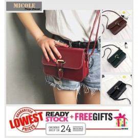 image of READY STOCK>> MICOLE Korean Shoulder Bag Handbag Women Sling Bag Beg SB2021