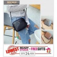image of READY STOCK>> MICOLE Korean Shoulder Bag Handbag Women Sling Bag Beg SB2023
