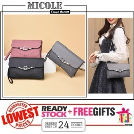 image of READY STOCK> MICOLE Korean Shoulder Bag Handbag Women Sling Bag Beg SB2074