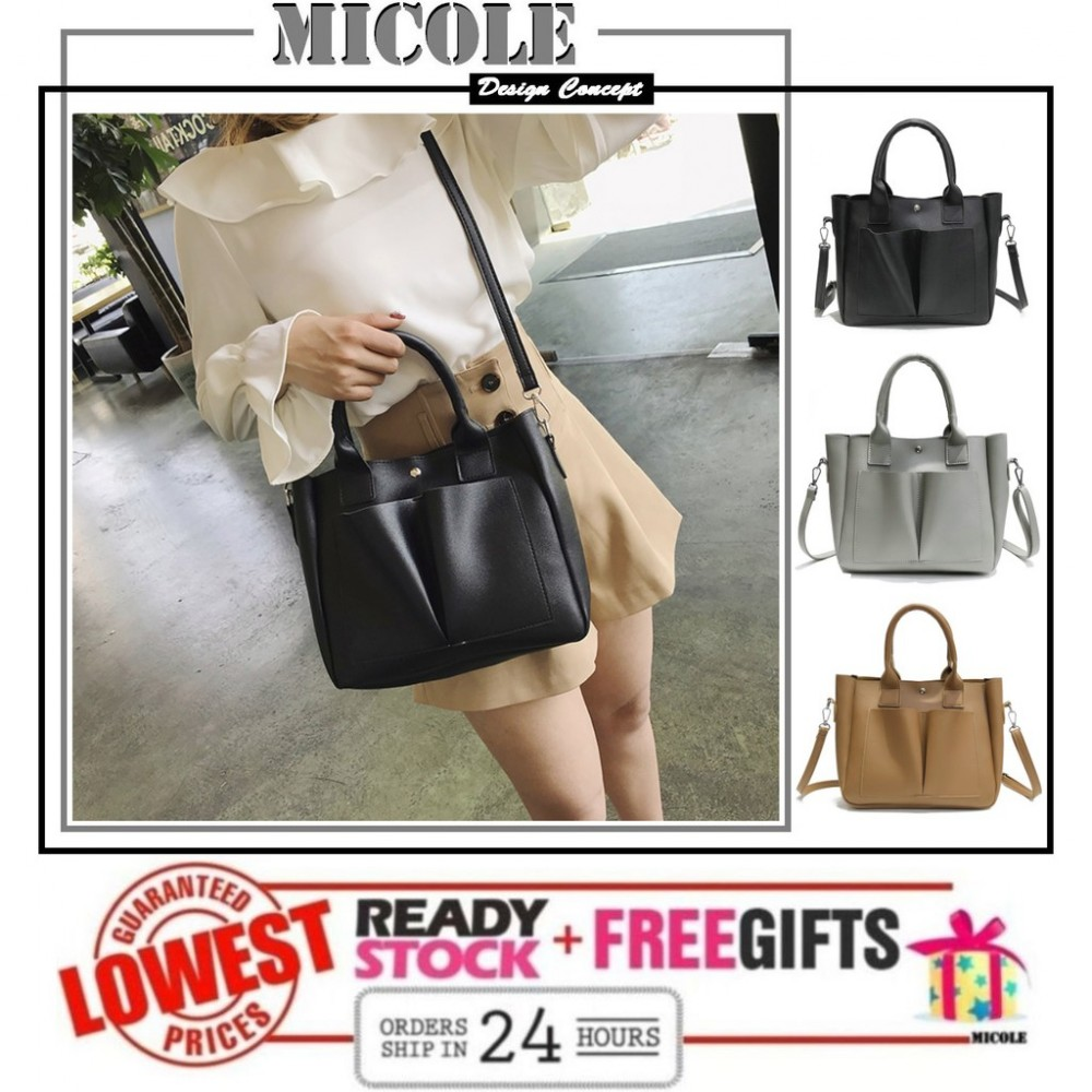 READY STOCK >>MICOLE Casual Shoulder Bag Handbag Women Sling Bag SB2072