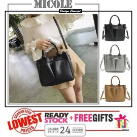 image of READY STOCK >>MICOLE Casual Shoulder Bag Handbag Women Sling Bag SB2072