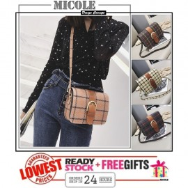 image of Ready Stock>> MICOLE Korean Shoulder Bag Handbag Women Sling Bag Beg SB2066