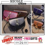 Ready Stock>>MICOLE Korean Shoulder Bag Handbag Women Sling Bag Beg SB2062