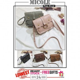 image of READY STOCK>>MICOLE Korean Shoulder Bag Handbag Women Sling Bag Beg SB2061
