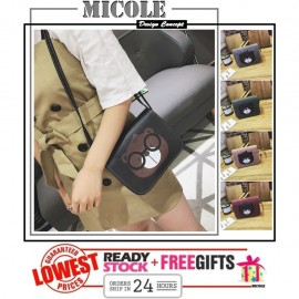 image of READYSTOCK>> MICOLE Bear Pattern Shoulder Bag Handbag Women Sling Bag SB2058