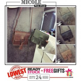 image of Ready StocK>>MICOLE Korean Shoulder Bag Handbag Women Sling Bag Beg SB2059