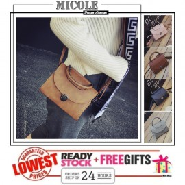 image of Ready Stock>>MICOLE Korean Shoulder Bag Handbag Women Sling Bag Beg SB2034