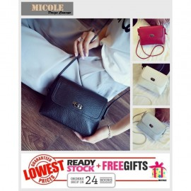image of READY STOCK>>MICOLE Korean Shoulder Bag Handbag Women Sling Bag Beg SB2018