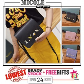 image of Ready Stock>> MICOLE Korean Shoulder Bag Handbag Women Sling Bag Beg SB2063