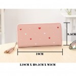 Ready Stock >> MICOLE Long Wallet Women PU Leather Zip Pouch Purse WF4003