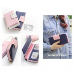 Ready Stock >> MICOLE Bird Logo Premium Long Wallet Women Purse WF4005