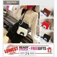 image of READY STOCK>> MICOLE Korean Shoulder Bag Handbag Women Sling Bag Beg SB2022