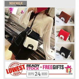 image of READY STOCK>> MICOLE Korean Shoulder Bag Handbag Women Sling Bag Beg SB2022
