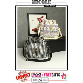image of Ready Stock>> MICOLE Korean Shoulder Bag Handbag Women Sling Bag Beg SB2079